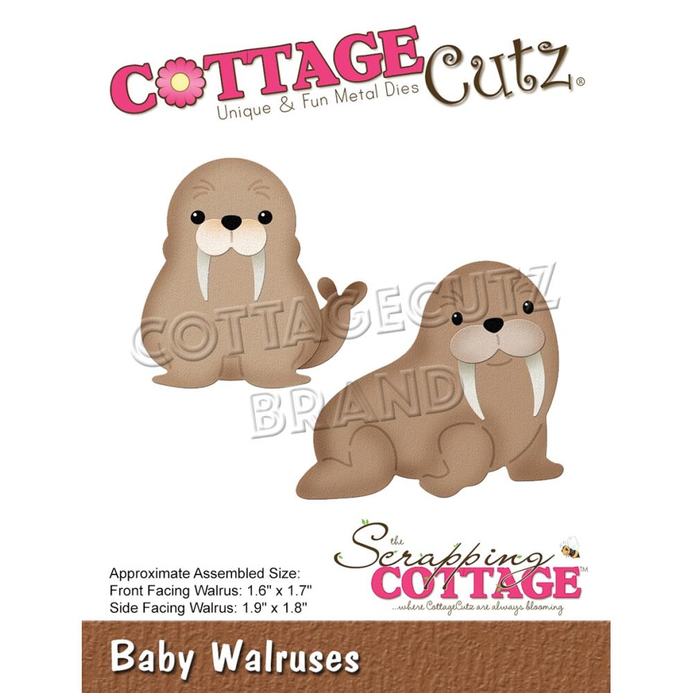 CottageCutz Dies - Baby Walruses, 1.6in To 1.9in