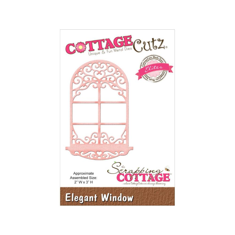 CottageCutz Elites Die - Elegant Window