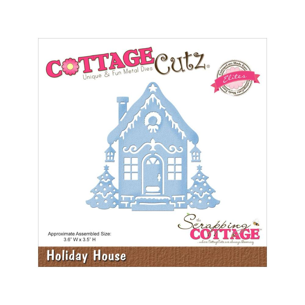 CottageCutz Elites Die - Holiday House