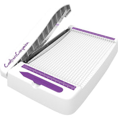 Crafters Companion Professional Guillotine Small, White With Purple