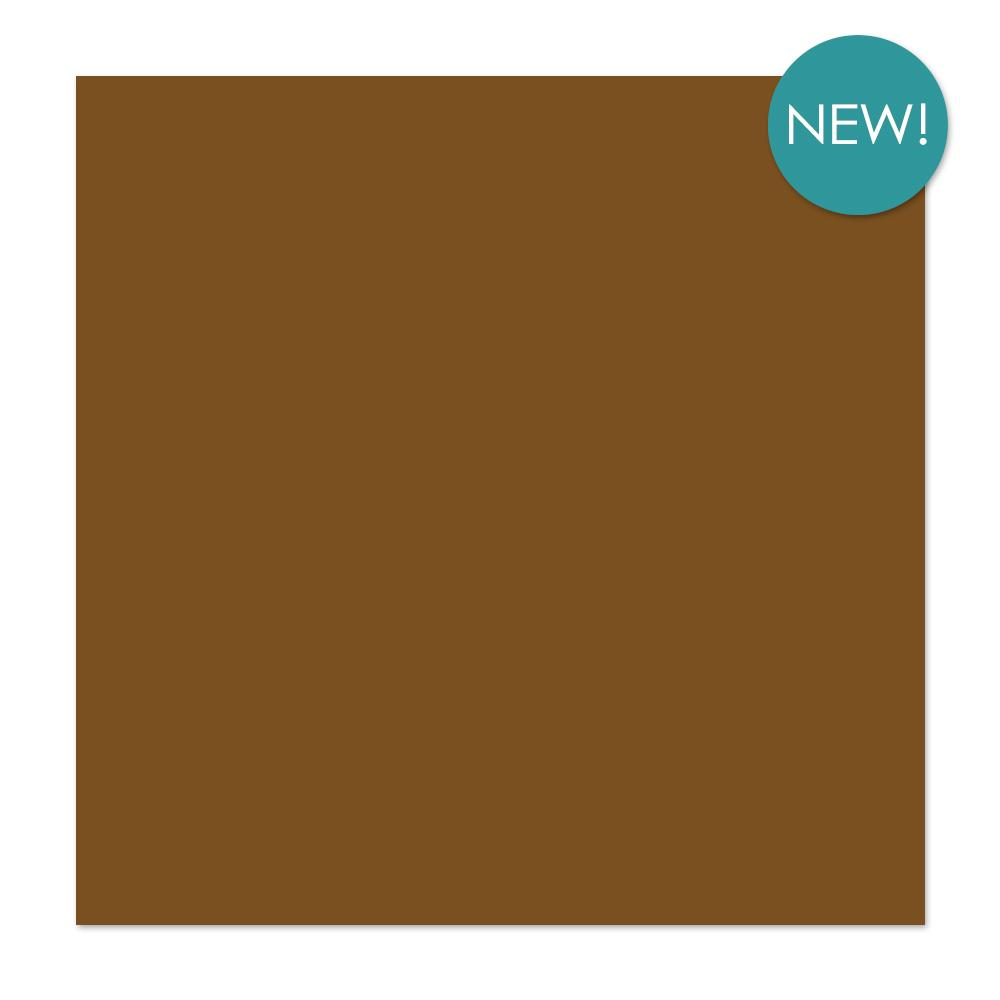 Kaisercraft 12x12 inch, single sheet, Weave Cardstock 220 gsm - Chestnut