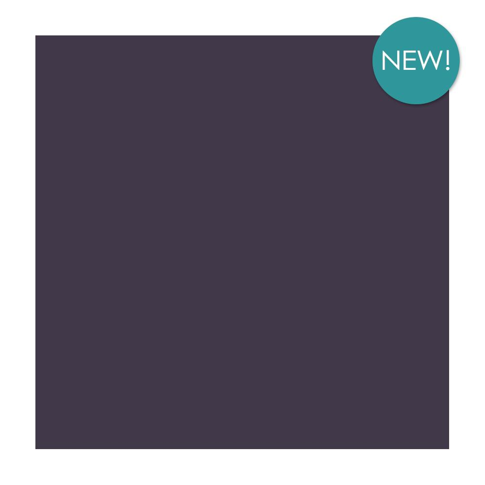 Kaisercraft - 12x12 inch, single sheet, Weave Cardstock 220 gsm - Eggplant