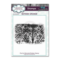 Creative Expressions - Pre Cut Rubber Stamp by Andy Skinner - Botanic Grunge