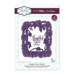 Creative Expressions - Frames and Tags Collection Wisteria