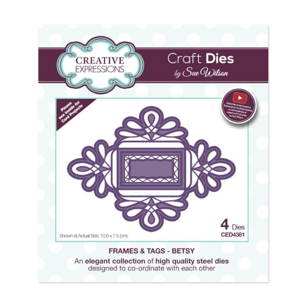 Creative Expressions - Frames and Tags Collection Betsy Craft Die