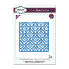 Creative Expressions Die - Background Dotty Scallop Celebration