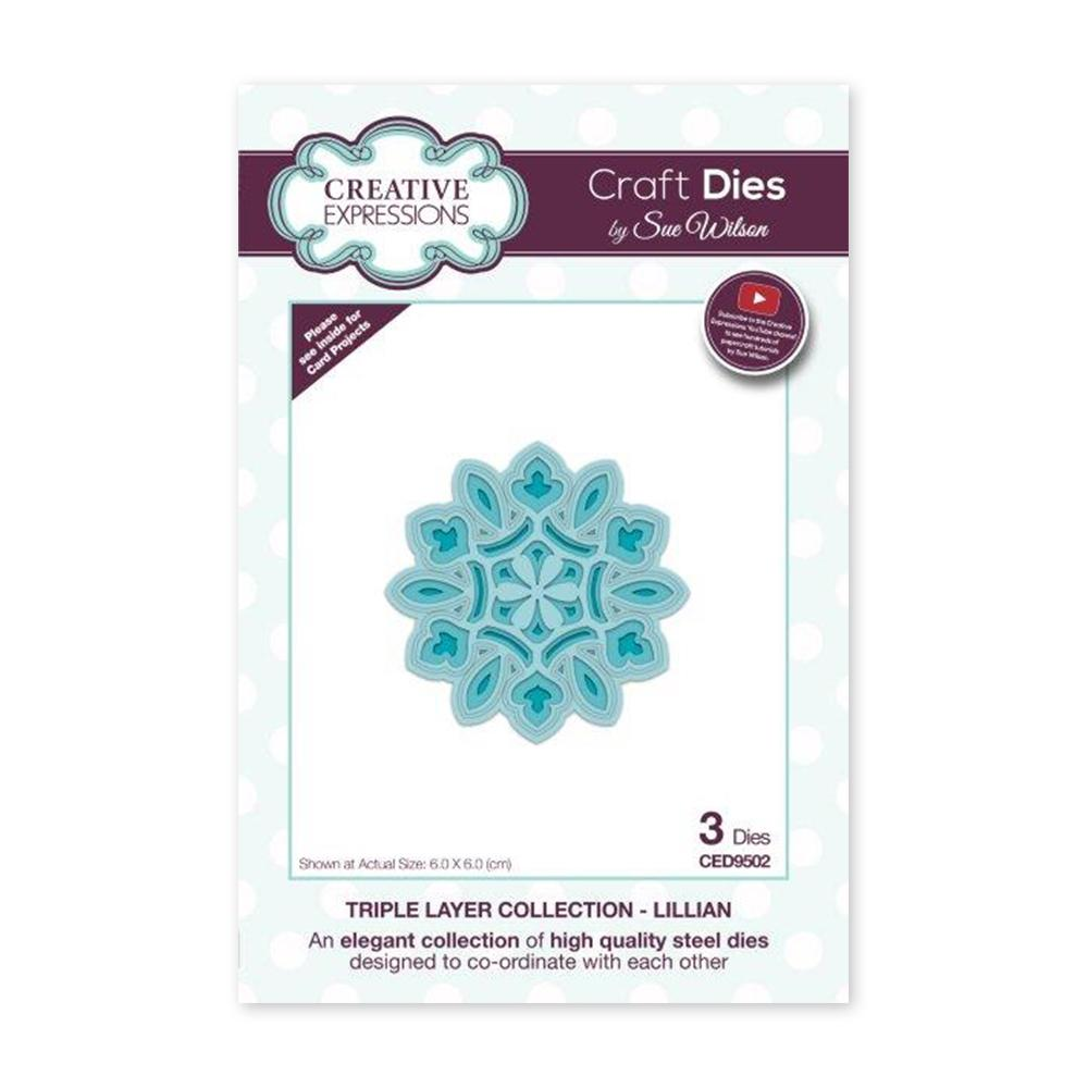 Creative Expressions - Craft Dies - Triple Layer Collection Lillian