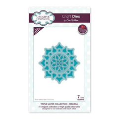 Creative Expressions - Craft Dies - Triple Layer Collection Melissa