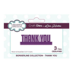 Creative Expressions - Borderline Thank You