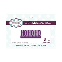 Creative Expressions - Craft Die - Borderline Ho Ho Ho