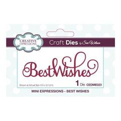 Creative Expressions - Mini Expressions Collection Best Wishes