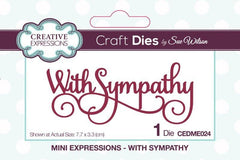 Creative Expressions - Mini Expressions Collection With Sympathy
