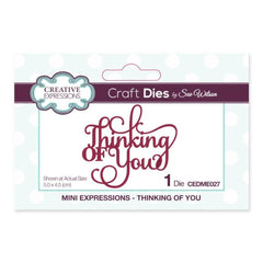 Creative Expressions - Mini Expressions Collection Thinking of You