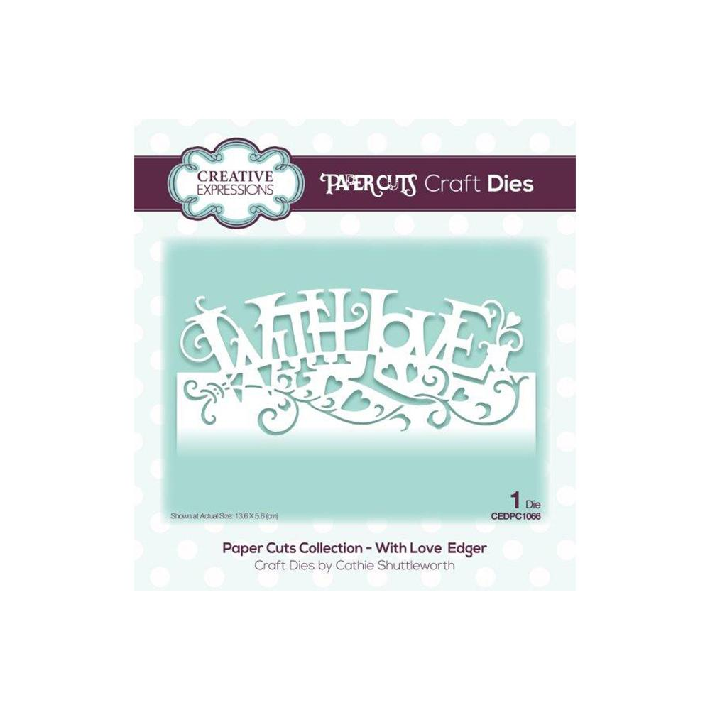 Creative Expressions - Paper Cuts Collection - With Love Edger