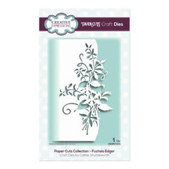 Creative Expressions - Paper Cuts Collection - Fuchsia Edger Craft Die
