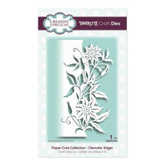 Creative Expressions - Paper Cuts Collection - Clematis Edger Craft Die