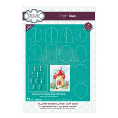 Creative Expressions - Willowby Woods Collection - Fairy Doors Craft Die