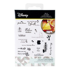 Character world limited - Disney Beauty And The Beast Stamp Set Belle