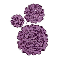 Cheery Lynn Designs 3D Diemarigold Punch & Stack 1 Inch  To 2.5 Inch