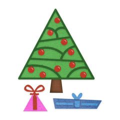 Cheery Lynn Designs - Deco Christmas Tree - 5 Piece - B915