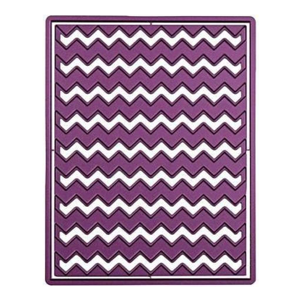 Cheery Lynn Designs Die A2 Chevron Punch 4X5.25