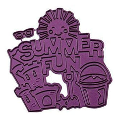 Cheery Lynn Designs Die - Summer Fun .25 Inch To 3.25 Inch