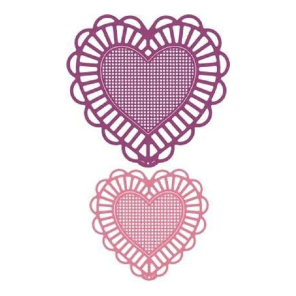 Cheery Lynn Designs - Two Of Hearts Die -