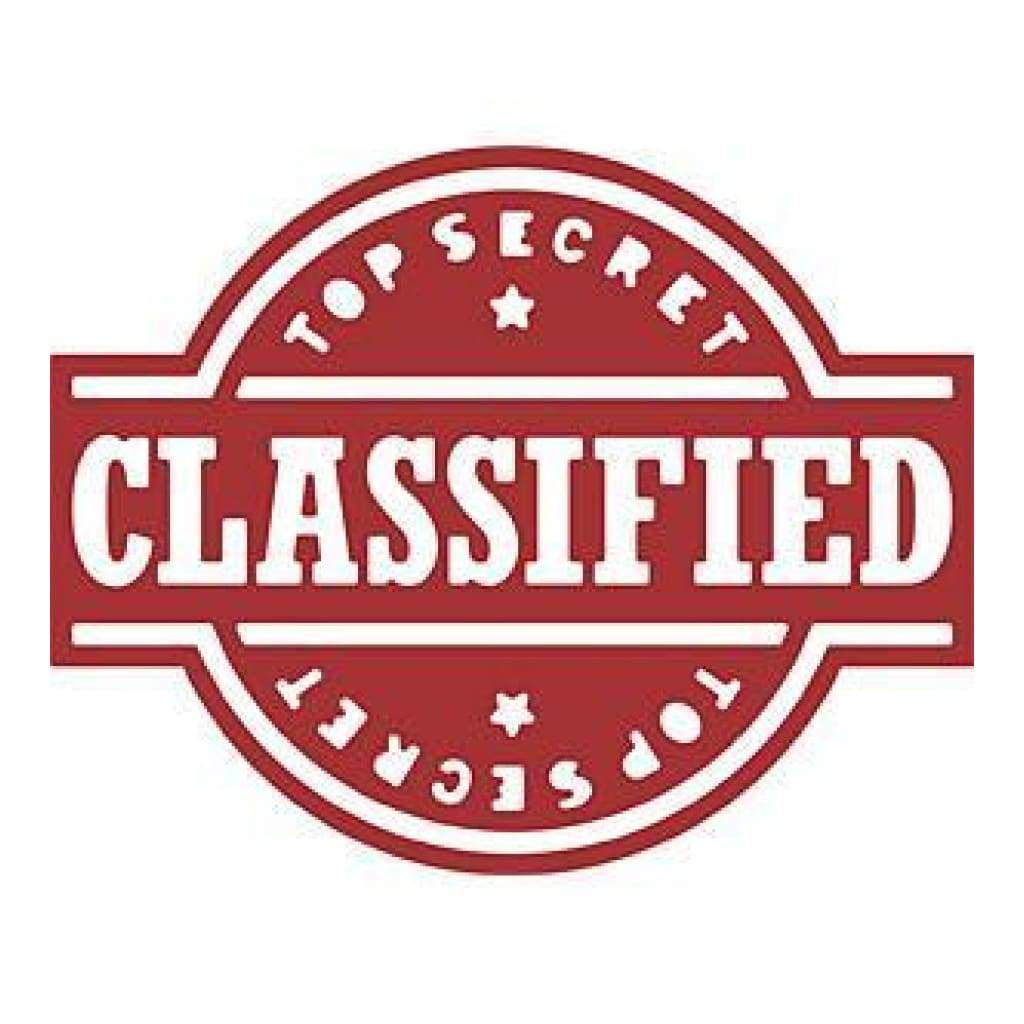 Cheery Lynn Die - Top Secret Classified - B492