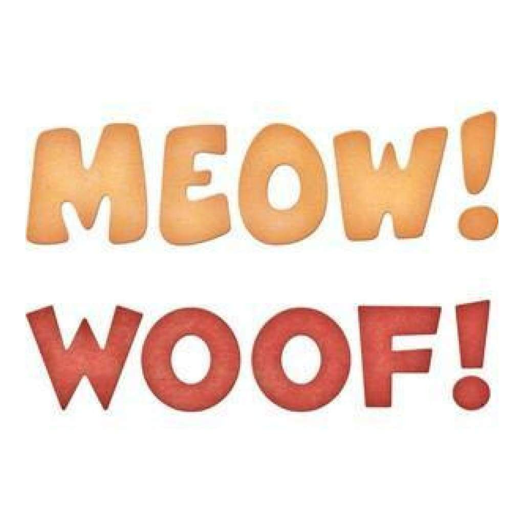Cheery Lynn - Meow! & Woof! (Set Of 2) - B560