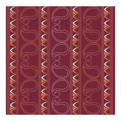 cherryArte Paisley Rouge 12X12 Patterned Paper (Pack Of 10)