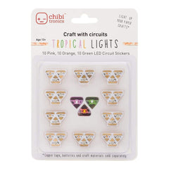 Chibitronics Tropical Lights - LED Mega Pack