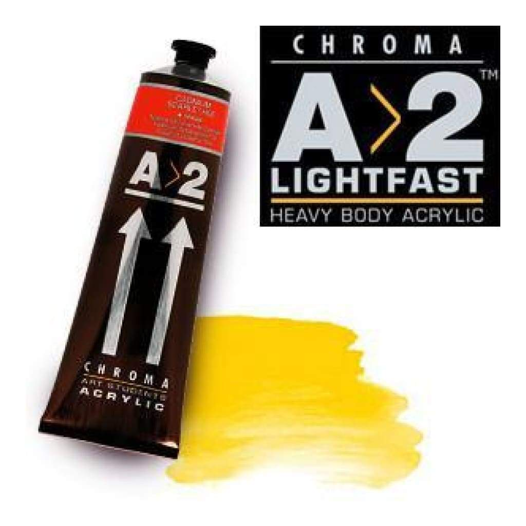 Chroma A2 Cad Yellow Med Hue 120Ml