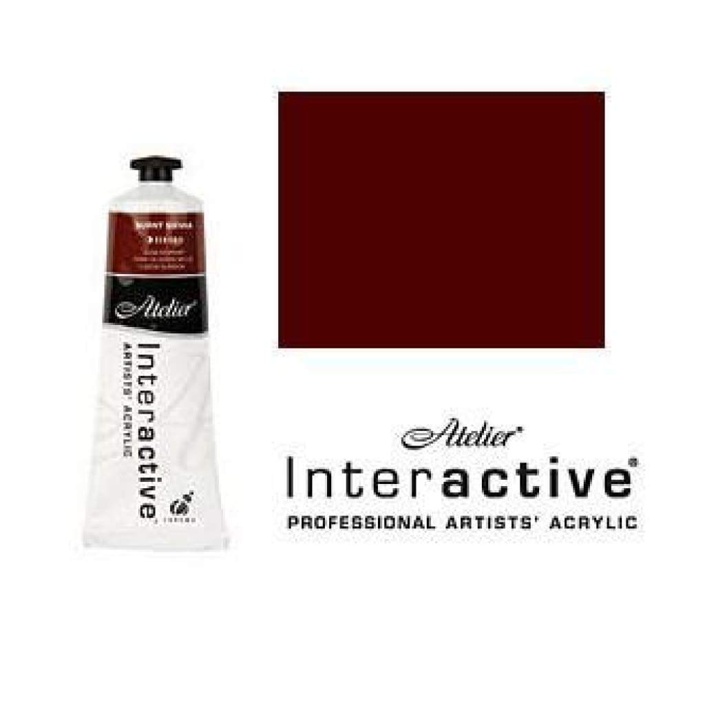 Chroma - Atelier Interactive Burnt Sienna S1 80Ml