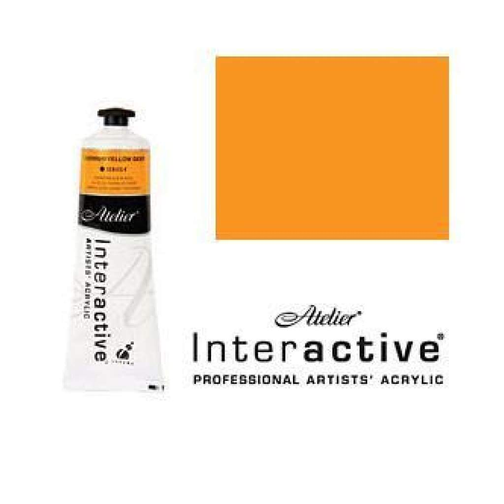Chroma - Atelier Interactive Cadmium Yellow Deep S4 80Ml