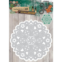 Studio Light Industrial 3.0 Cutting & Embossing Die - Floral Mandala