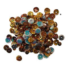 Clear Scraps Sequin Multi Pack 350 To 400 Pieces - Fall