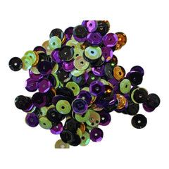 Clear Scraps Sequin Multi Pack 350 To 400 Pieces - Spooky