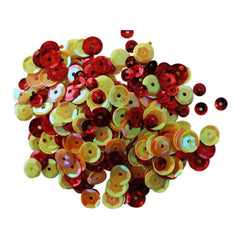 Clear Scraps Sequin Multi Pack 350 To 400 Pieces - Summer