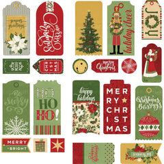 PhotoPlay Christmas Memories Ephemera Cardstock Die-Cuts Tags