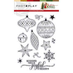 PhotoPlay Photopolymer Stamp Elements, Christmas Memories