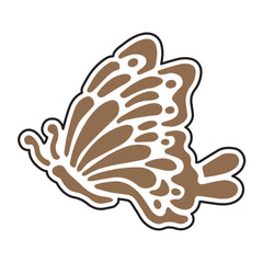 Universal Crafts Hot Foil Stamp 34mm x 29mm - Butterfly