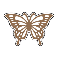 Universal Crafts Hot Foil Stamp 42mm x 28mm - Butterfly