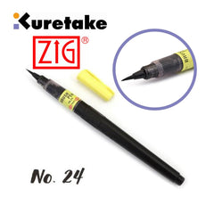 ZIG - Brush Pen No 24 Black