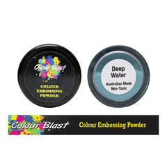 Colour Blast - Colour Embossing Powder - Deep Water