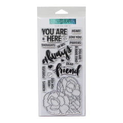 Concord & 9th Clear Stamps 4 inch X8 inch You Are Here