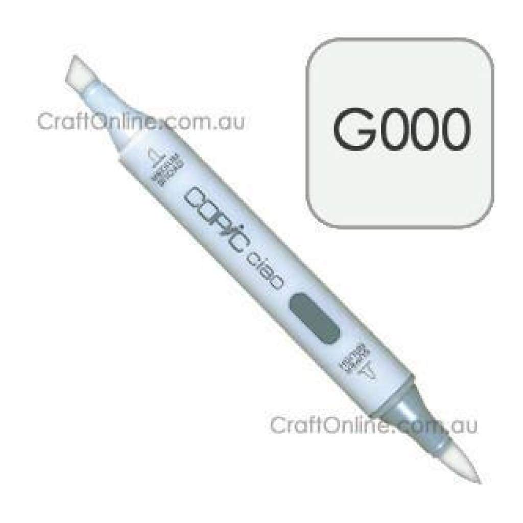 Copic Ciao Marker Pen - G000 - Pale Green