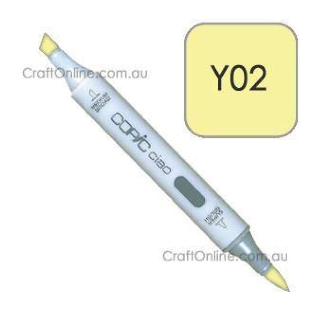 Copic Ciao Marker Pen - Y02 - Canary Yellow