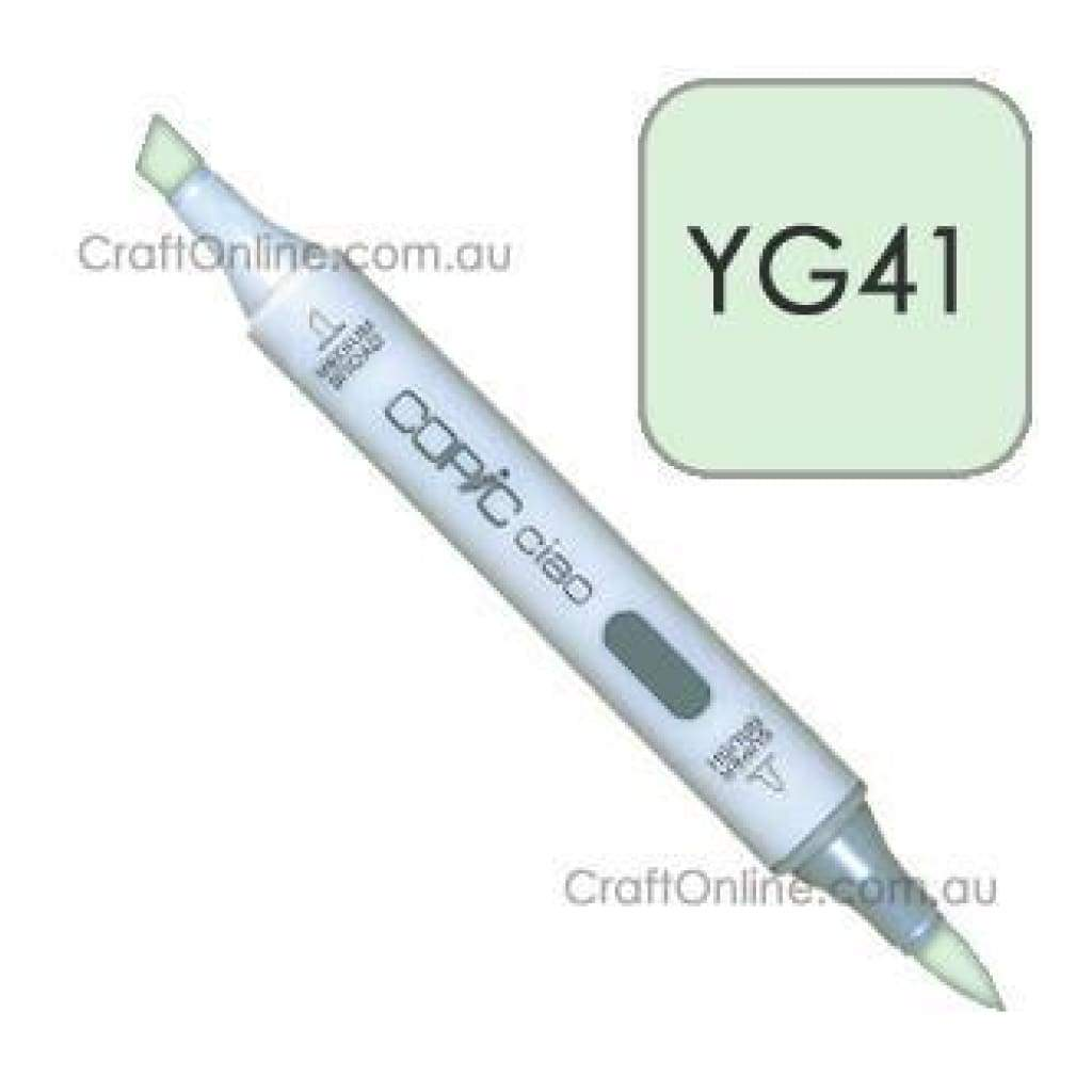Copic Ciao Marker Pen - Yg41 - Pale Green