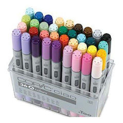 Copic Ciao Markers - Set A 36 Colours