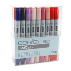 Copic Ciao Markers - Set D 36 Colours